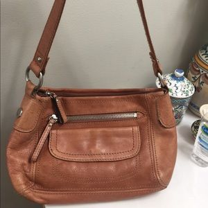 Fossil Genuine Leather Shoulder Bag